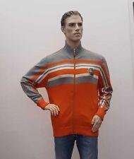 TOM TAILOR Weste Strickjacke orange Männer Herren XL (1809A-PA-OH3)