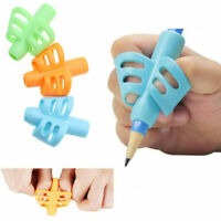 Kids Silicone Two-finger Baby Pencil Grip Holder Writing Posture Correction Tool