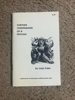 FURTHER Confessions Of A Psychic By Karl Fulves/Uriah Fuller Magic & Mentalism