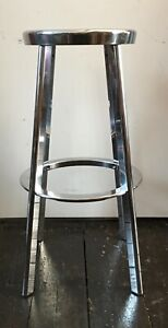 MAGIS Déjà-Vu Bar Stool - Chromed Aluminium - Naoto Fukasawa Design - Mint