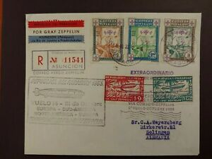 1933 COMPLETE COVER PARAGUAY GRAF ZEPPELIN B388.38 0.99$