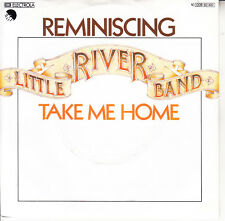"LITTLE RIVER BAND  Reminiscing PICTURE SLEEVE 7"" 45 record NEW + jukebox strip"