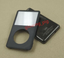 NEW! ipod Classic 6th 120GB Black Front Faceplate +Back Housing Case Cover