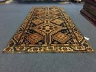 """On Sale Semi Antique Beautiful Vintage Hand Knotted Area Rug 3'11""""x8'5""""#3322"""