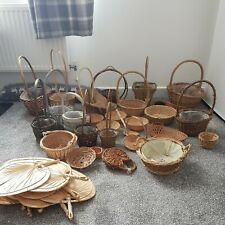 (1) A selection  of Flower Arranging Baskets various sizes Used condition