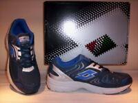 Lotto Antares III scarpe ginnastica sneakers running corsa uomo tela blu shoes