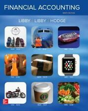 Financial Accounting by Patricia A. Libby, Frank Hodge and Robert Libby...