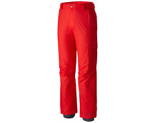 NWT COLUMBIA Bull Lake SNOW PANT Ski Board BR RED Insulated Waterproof MENS XL