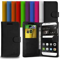 Custodia Case Flip Cover Pelle Portafogli Libro Per Huawei P9 lite