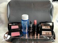 🌸NEW LANCOME Gift Set 7 Pcs Makeup Travel Size W/ Cosmetic Bag