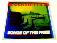 1982 Gang of Four Songs of the Free LP Vinyl Record Album  23683-1