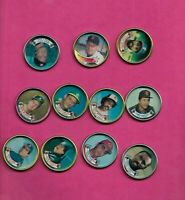 CLEMENS + MCGWIRE + MURRAY + MORRIS  AND MORE 1988 TOPPS COINS (INV# C4931)