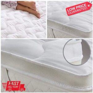 5cm Microfiber Mattress Topper Ultra Soft Air Flow Mattress Luxury Hotel Quality