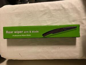 Rear Wiper Blade and Arm for Subaru Forester 2008-2017 back windscreen wiper