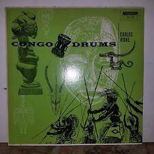 Carlos Vidal-Tampa.Press-Lp-CONGO DRUMS TP-32-DG.LP EXC-Barely Played-Top Copy!