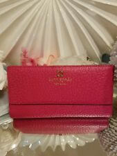 NWT Kate Spade Stacy Southport Avenue Wallet in Rngwldpink  $198 #1394