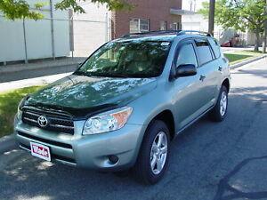 Toyota Rav-4 2006 - 2012 Wind deflectors In-Channel