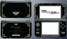 Legend of Zelda Special Edition Black Gold Leaf Skin NEW Nintendo 3DS XL 2015