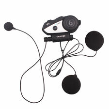 BT Motorcycle Intercom Bluetooth Helmet Interphone V6 Headset for Cellphone GPS