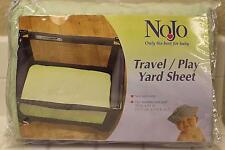 NOJO Coral Fleece Travel /Playard Sheet, Solid Sage  , One Size