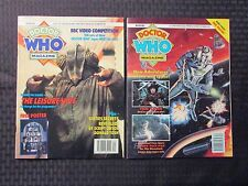 1992 DOCTOR WHO Marvel UK Magazine #181 191 FN/FN+ w/ Posters NM