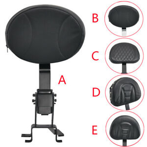 Plug-In Driver Backrest + Mounting Kit For Indian Chieftain Roadmaster 2014-2019