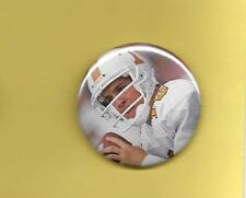 "Peyton Manning Tennessee Colts Broncos 2"" Football Button #2"