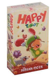 Happy Tarot by Serena Ficca Tarot & instructions Cards Lo Scarabeo Made in Italy