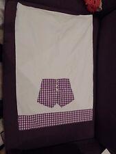 Vintage Appliqued Pillowcase Gingham His/Hers Pants estate handmade Gently Used