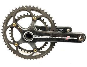 Campagnolo Record 11 Speed Ultra Torque Carbon Road Bike Crankset 180mm 53/39