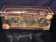 VTG Hasbro Narnia Lion Witch Wardrobe Battle Of Beruna Action Figure Set MIB '05