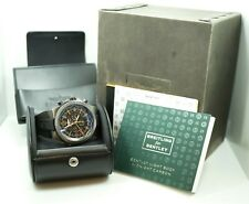 Breitling for Bentley GMT Midnight Carbon Limited Edition M47362 Limited to 1000