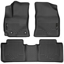Husky Liners Black Car Floor Mat Rubber Carpet For Toyota 2014-2017 Corolla