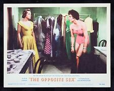 THE OPPOSITE SEX * CineMasterpieces MOVIE POSTER LOBBY CARD JOAN COLLINS 1956