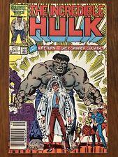 The Incredible Hulk #324 (Oct 1986, Marvel) Return Of Grey Hulk