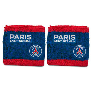 PSG Mens Wristband Towelling 2 Pack OFFICIAL Football Gift