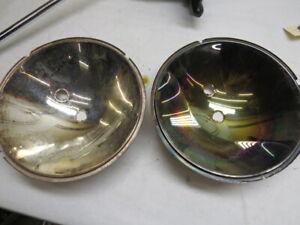 NOS 1932 Ford standard headlamp reflectors PAIR    G-4-1