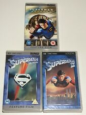 Superman Trilogy Rare UMD PSP UK and Japan Releases FREE SHIPPING WORLDWIDE!