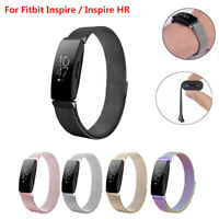 For Fitbit Inspire/Inspire HR Magnetic Milanese Stainless Steel Watch Band Strap