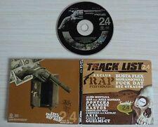 CD ALBUM DIGIPACK TRACK LIST 16 TITRES HIP HOP SOPRANO BUSTA FLEX ALIBI MONTANA