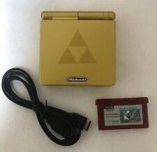 Nintendo GameBoy Advance SP Console Zelda Super Mario Bros. USB Charging cable