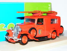 Eligor 1020 Citroen Camionnette Pompiers Fire Service 1/43