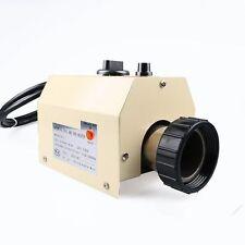 3KW 220V chauffe-eau Piscine SPA Réchauffeur Baignoire Electrique Thermostat
