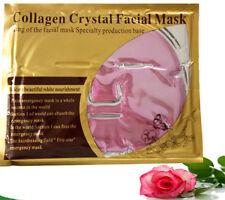 12 Pink Gold Bio Facial MASK Crystal, colageno mascarilla colageina, anti-aging
