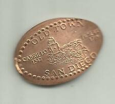 Copper elongated penny (cent) Cafe Coyote San Diego Ca Gone!