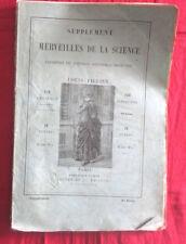 Supplément aux merveilles de la science : télégraphie électrique ,aérostat 1887