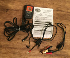 Harley Davidson Supersmart Battery Tender Charger with Battery Cables Like New