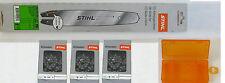 Stihl Führungsschiene 30cm für MS 170 / 171 / 180 / 181 / 192 / 193 +3Kette +Box