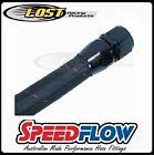 Speedlow 4 AN AN-4 100 Series Black Nomax Cover Braided Start-Lite® Hose 120-04
