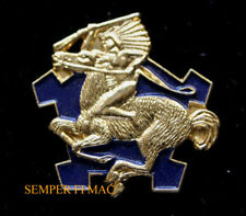 9TH CAVALRY REGIMENT HAT PIN US ARMY INDIAN HORSE RSTA FORT HOOD GIFT WOW
